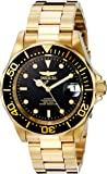 Invicta 8929 40mm Automatic Gold Steel Bracelet & Case flame fusion Men's Watch