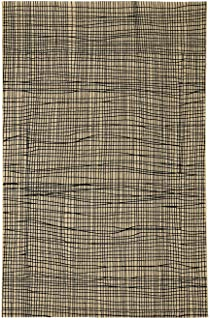 """product image for Capel Etching Black 5' 3"""" x 7' 6"""" Rectangle Machine Woven Rug"""