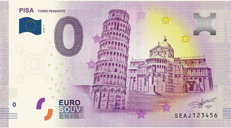 NumiSport€uro Italia 2018 - Pisa - 0 Euro Souvenir Billete