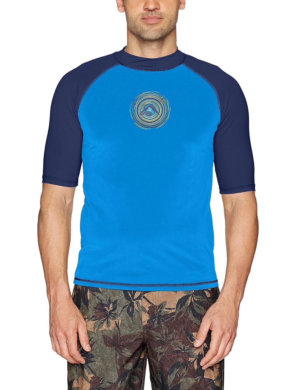 Kanu Surf Mens Sprint UPF 50+ Sun Protective Rashguard Swim Shirt Kanu Surf Men' s Swimwear 4475