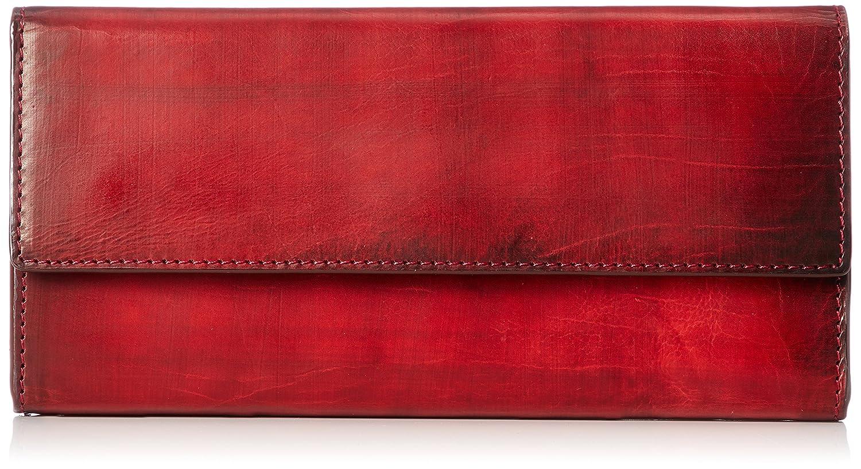 [チマブエ]長財布 手染カーフ B07BYSG85P レッド レッド