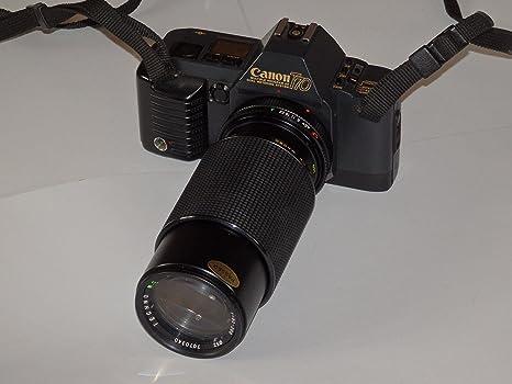 Canon T70 incl. Lente zoom Techno M.C. Macro 1: 4.5 F=80 – 200 ...