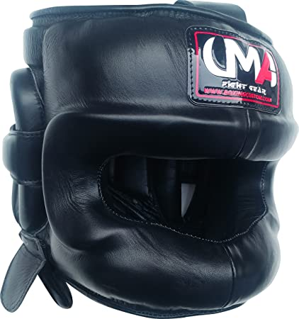 fe4c0fcf0 Universal Martial Arts Boxing Headgear - UMA R-81 - Facesaver - Boxing MMA -