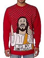 NOROZE Herren Unisex Retro Hässlich Frech Gestrickt Weihnachten Pullover strickpullover Top