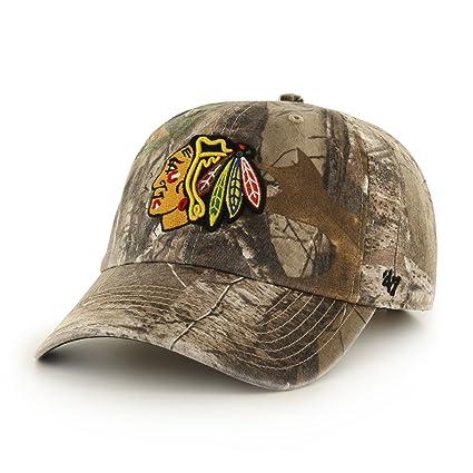 9127980b660 Amazon.com    47 NHL Chicago Blackhawks Big Buck Clean Up Camo ...