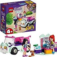 LEGO 41439 Friends Verzorgingsauto Set met Kittens, Emma en Mia Mini Poppetjes, Speelgoed Auto voor Meisjes en Jongens…
