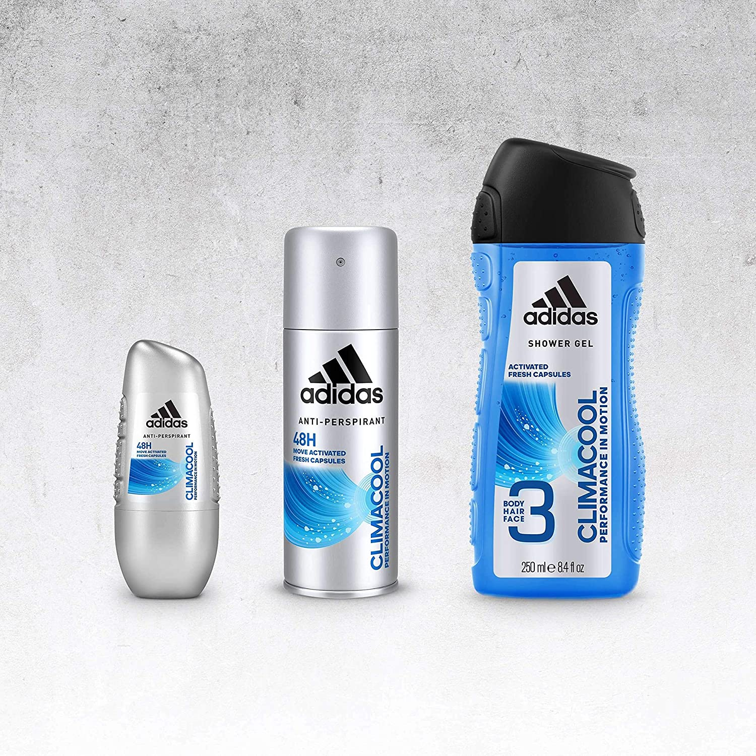 Buy Adidas Climacool Male Deodorant, Blue, 150 Ml Online at Low ...