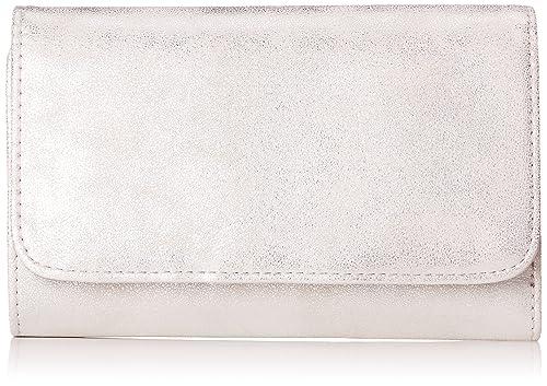Oliver (Bags)) - Portemonnaie, Carteras Mujer, Plateado (Silver