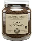 India Tree Dark Muscovado Sugar, 2.8 Pound