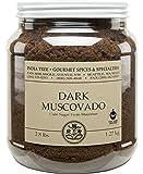 India Tree Dark Muscovado Sugar, 2.8 lb (Pack of 2)