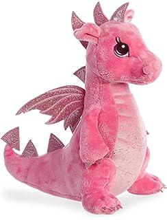Habibi Plush drag/ón morado y rosa peluche para calentar