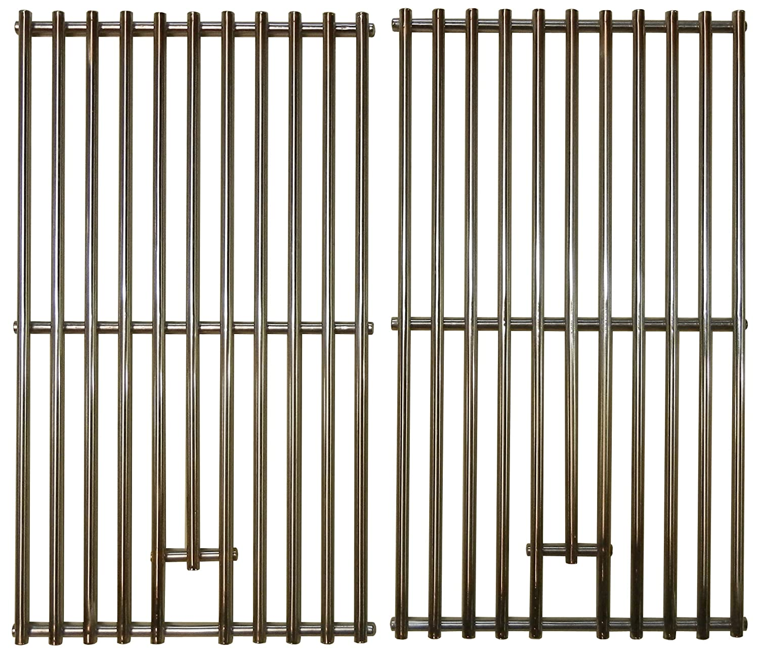 Music City Metals Stainless Steel Wire Cooking Grid Replacement for Gas Grill NXR 780-0009, Set of 2 5S382