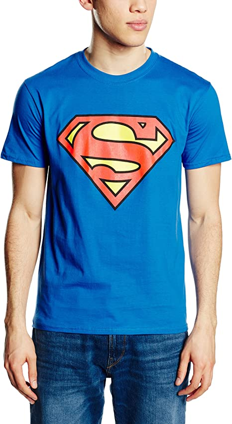 t-shirt uomo superman dc comics gbmts001