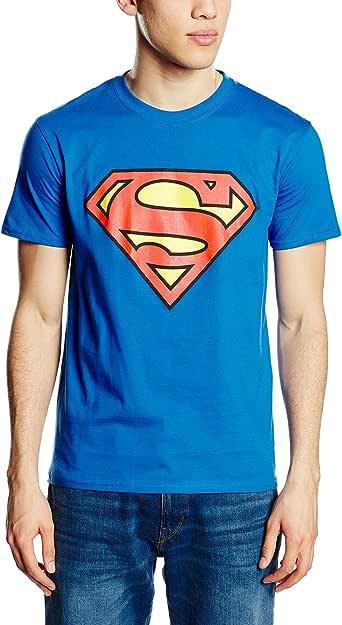 DC Comics Superman Logo Camiseta para Hombre: Amazon.es: Ropa y accesorios