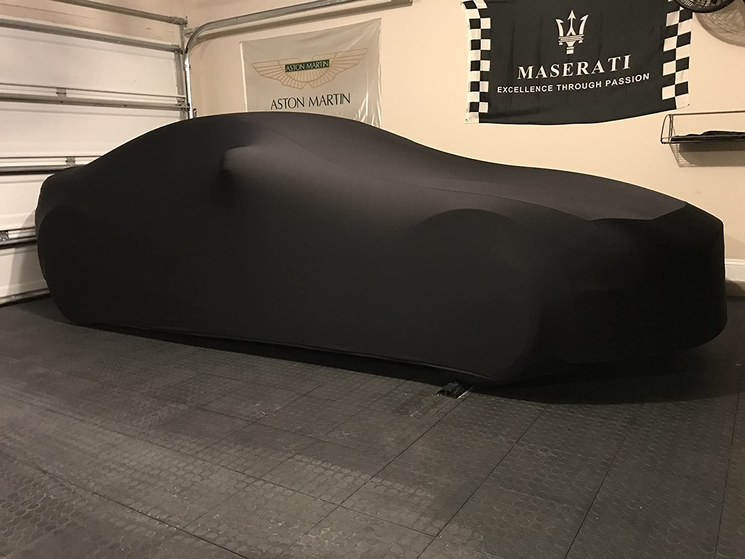 Guaranteed Keep Vehicle Looking Between Use Black Satin Ultra Soft Indoor Material Indoor SUV Car Cover Compatible with Porsche Macan 2014-2019 Includes Storage Bag
