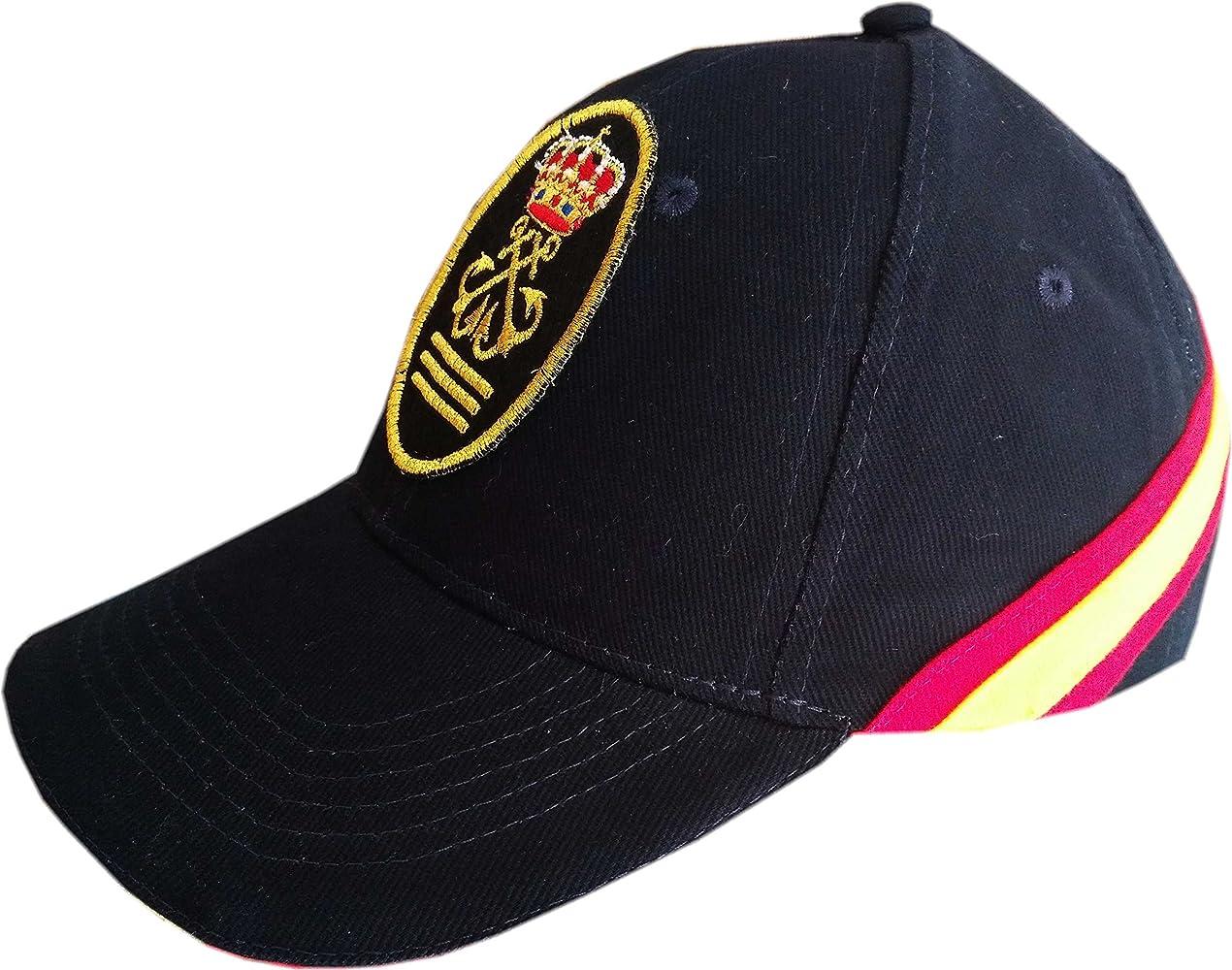 Gorra con Bandera España de Capitán de Yate (CY) (Azul Marino): Amazon.es: Ropa y accesorios
