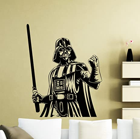 Star Wars Wall Decals Darth Vader Poster Vinyl Sticker Home Teen ...