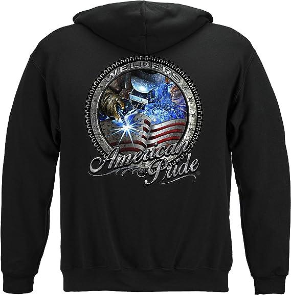 American Pride Welder Hooded Sweat Shirt
