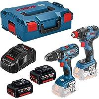 Bosch 06019G4205 Atornillador impacto batería GDX 18V-200 C Professional 18V CONNECTED MOTOR EC 200Nm 0-3400rpm 0…