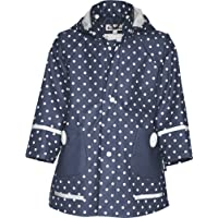 Playshoes 408566 Girl's Waterproof Raincoat Dots