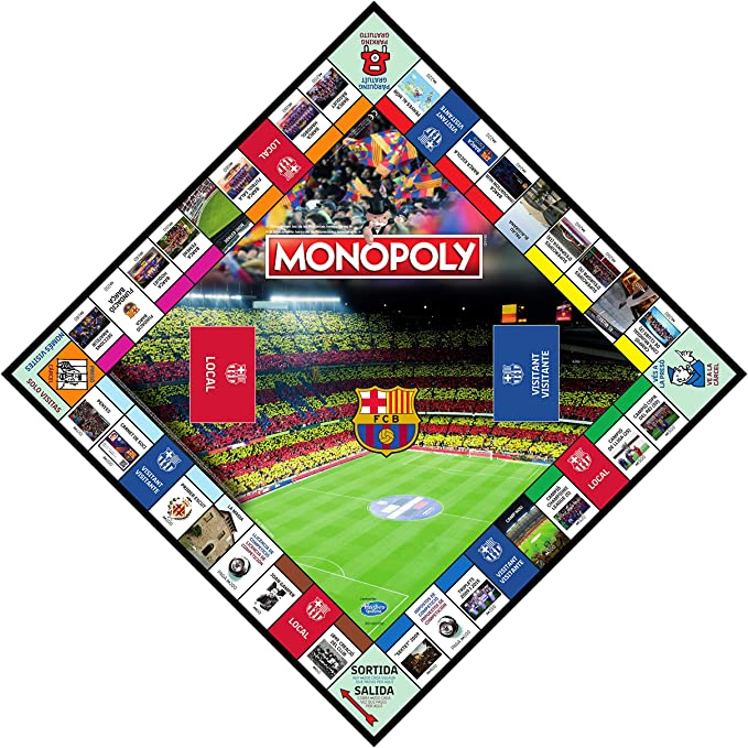 Winning Moves Monopoly FC Barcelona (10537), Multicolor: Amazon.es: Juguetes y juegos