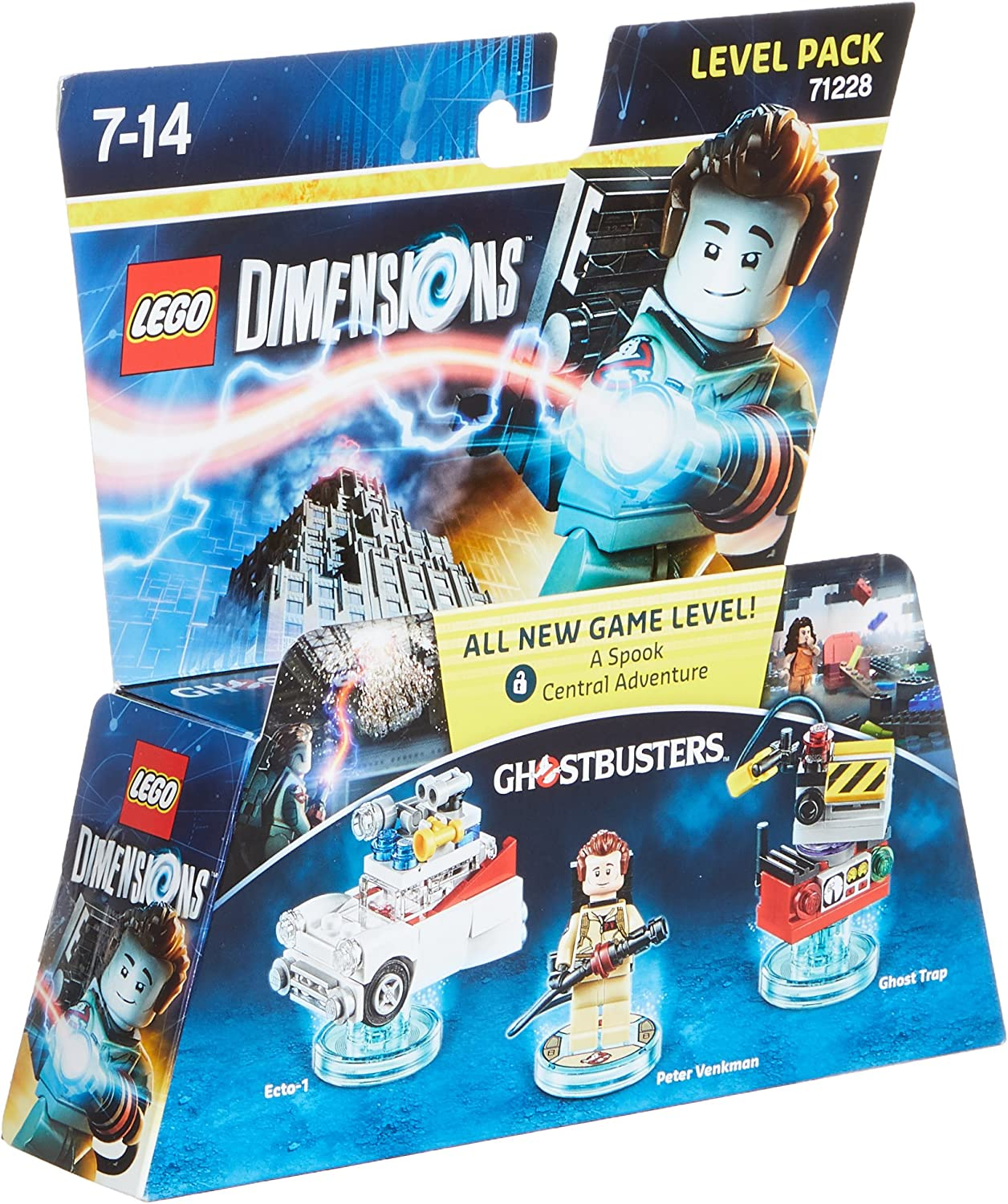 Warner Bros Interactive Spain Lego Dimensions - Los Cazafantasmas, Peter Venkman: Amazon.es: Videojuegos