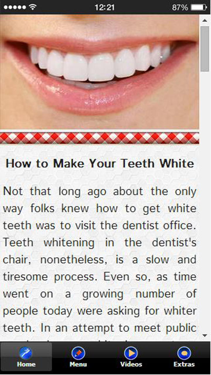 Amazon Com How To Make Your Teeth White Appstore For Android