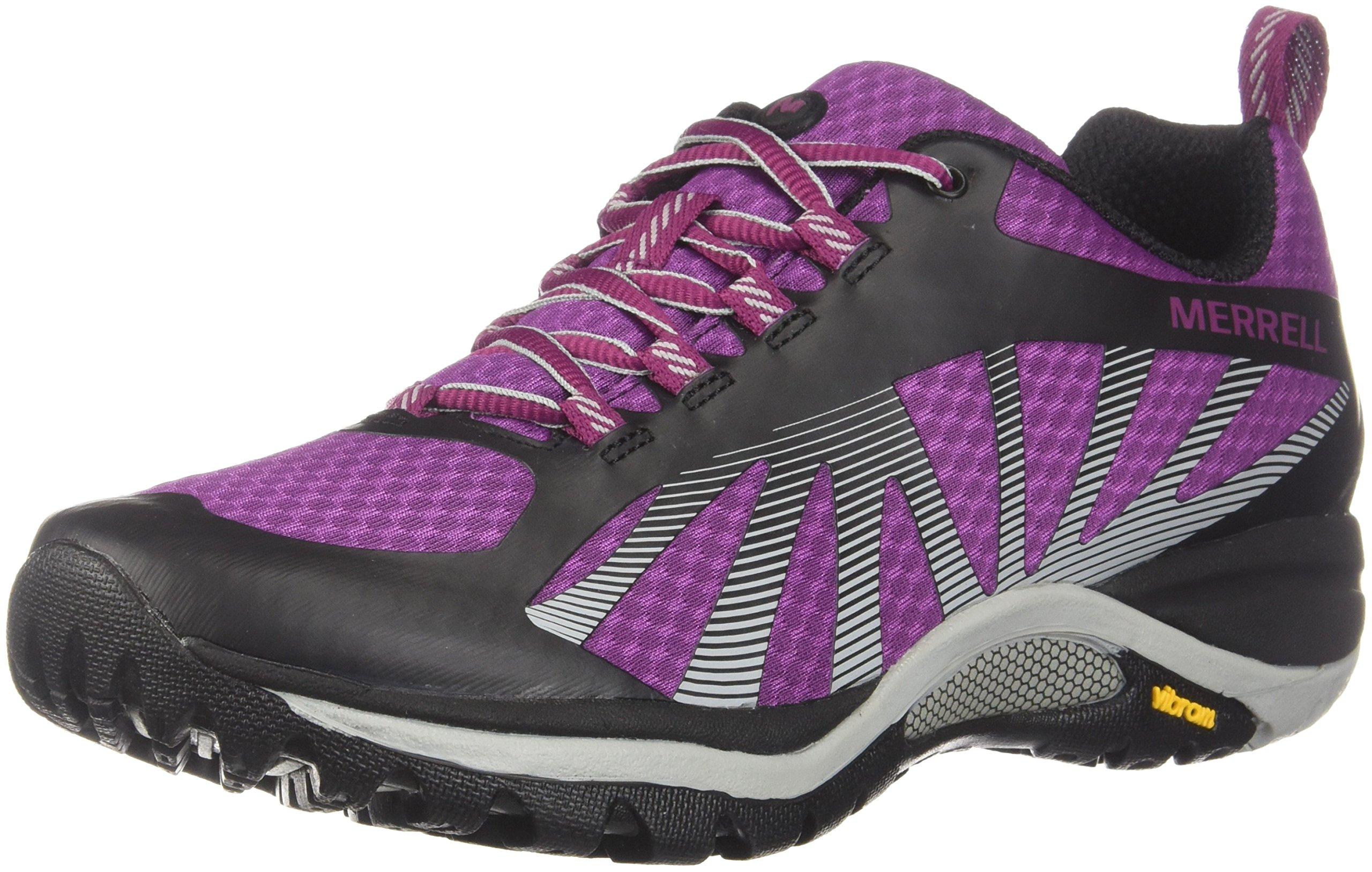 Merrell Women's Siren Edge Hiking Shoes, Amaranth, 6 Medium