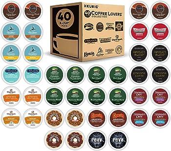 40-Count Keurig Coffee Lover's Single-Serve K-Cup Sampler
