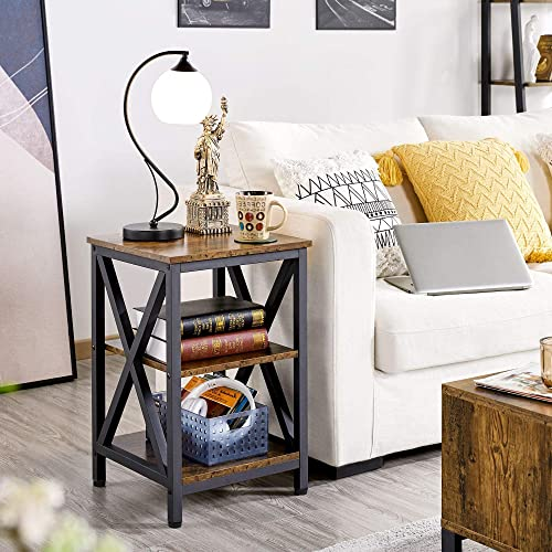 Best living room table: YAHEETECH Sofa Side End Table