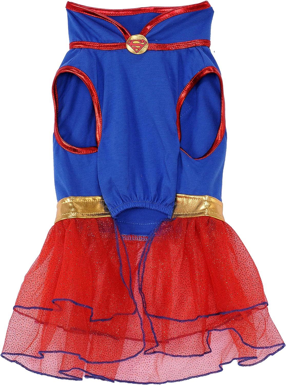 Large Rubies Costume Co Company 580324/_L DC Comics Super Girl Pet Tutu Dress