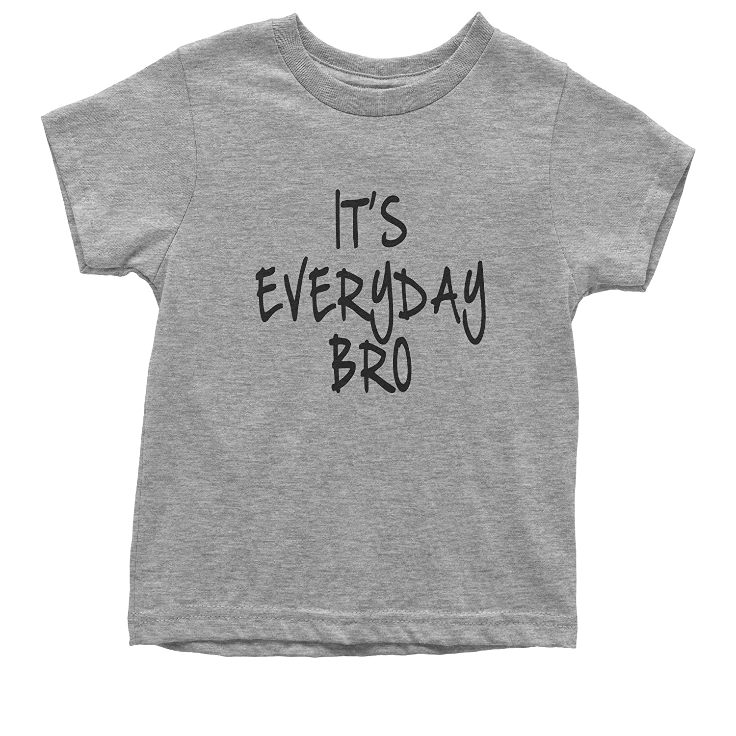 Expression Tees Its Everyday Bro Youth T-Shirt Black Print