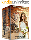 Mail Order Bride: 7 Brides for 7 Lonely Cowboys: Mega 7 Book Box Set: Clean Western Historical Romance Inspirational Book Bundle