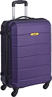 96b7eb4012 Safari Regloss Antiscratch 66 Cms Polycarbonate Purple Check-In 4 wheels  Hard Suitcase