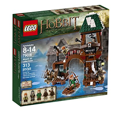LEGO Hobbit 79016 Attack on Lake-town: Toys & Games