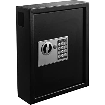 adiroffice 40 keys cabinet with digital lock. Black Bedroom Furniture Sets. Home Design Ideas