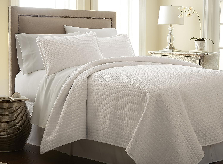 Southshore Fine Linens 3 Piece Oversized Quilt Sets (Queen, Bone)