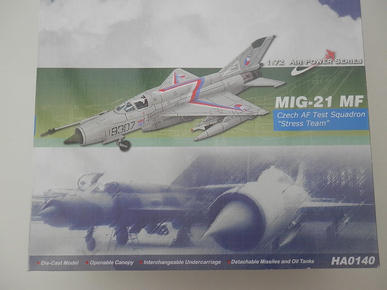 buena reputación Hobbymaster 1 72 MIG-21 MF Czech AF AF AF Test SQN Stress Team  venderse como panqueques