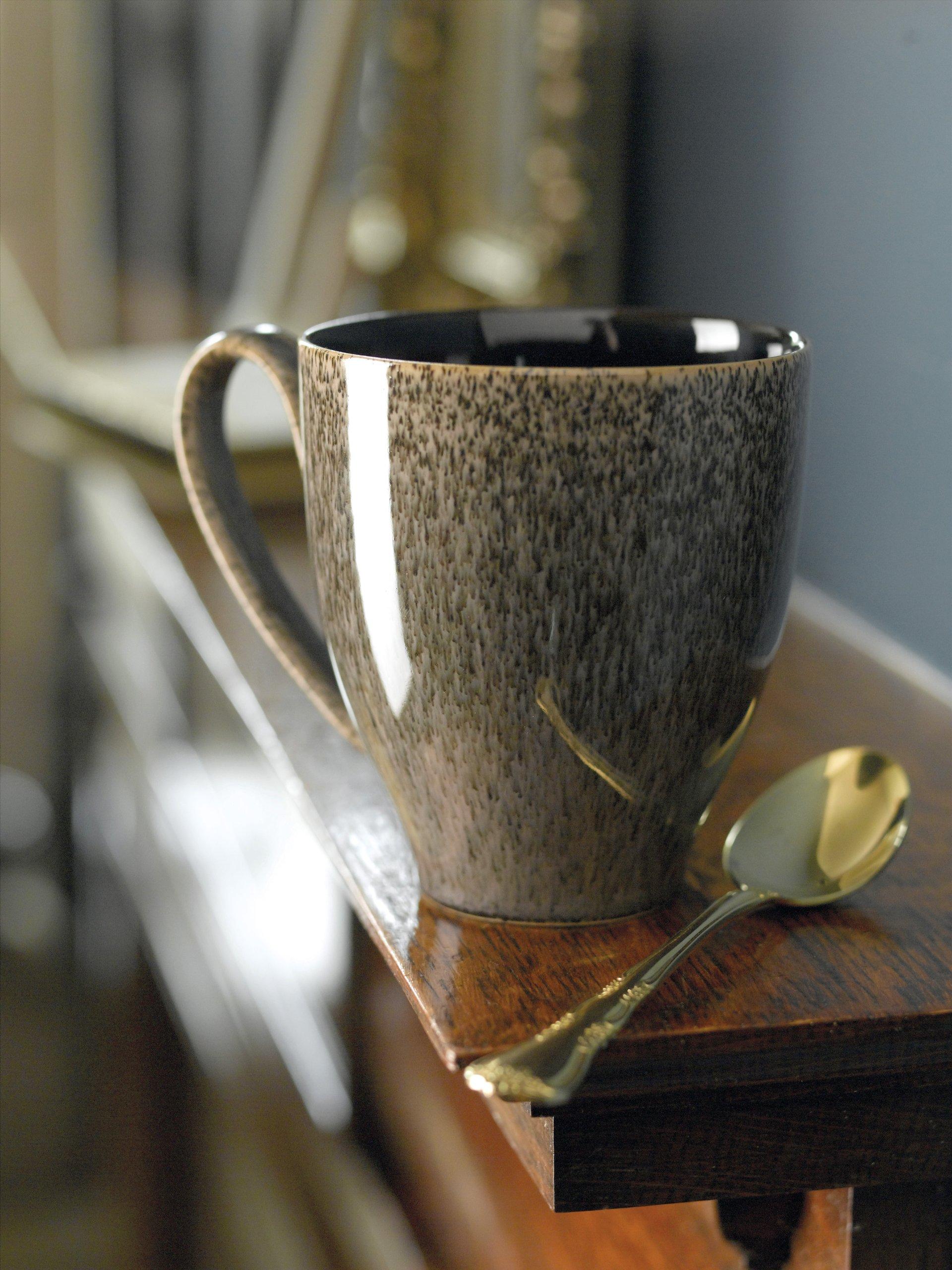 Denby Praline Large Mug, Set of 4