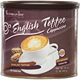 Victorian Inn Instant Cappuccino, English Toffee, 16-Ounce Canisters (Pack of 6)