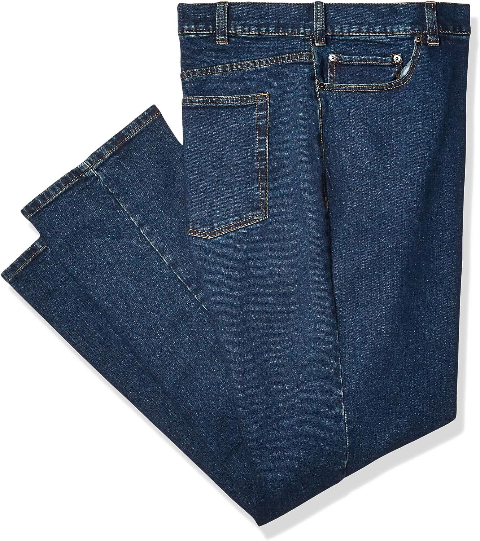sportliche Passform Essentials Herren Stretch-Jeans
