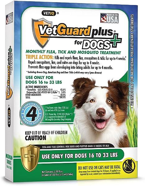 tratamiento contra garrapatas en cachorros