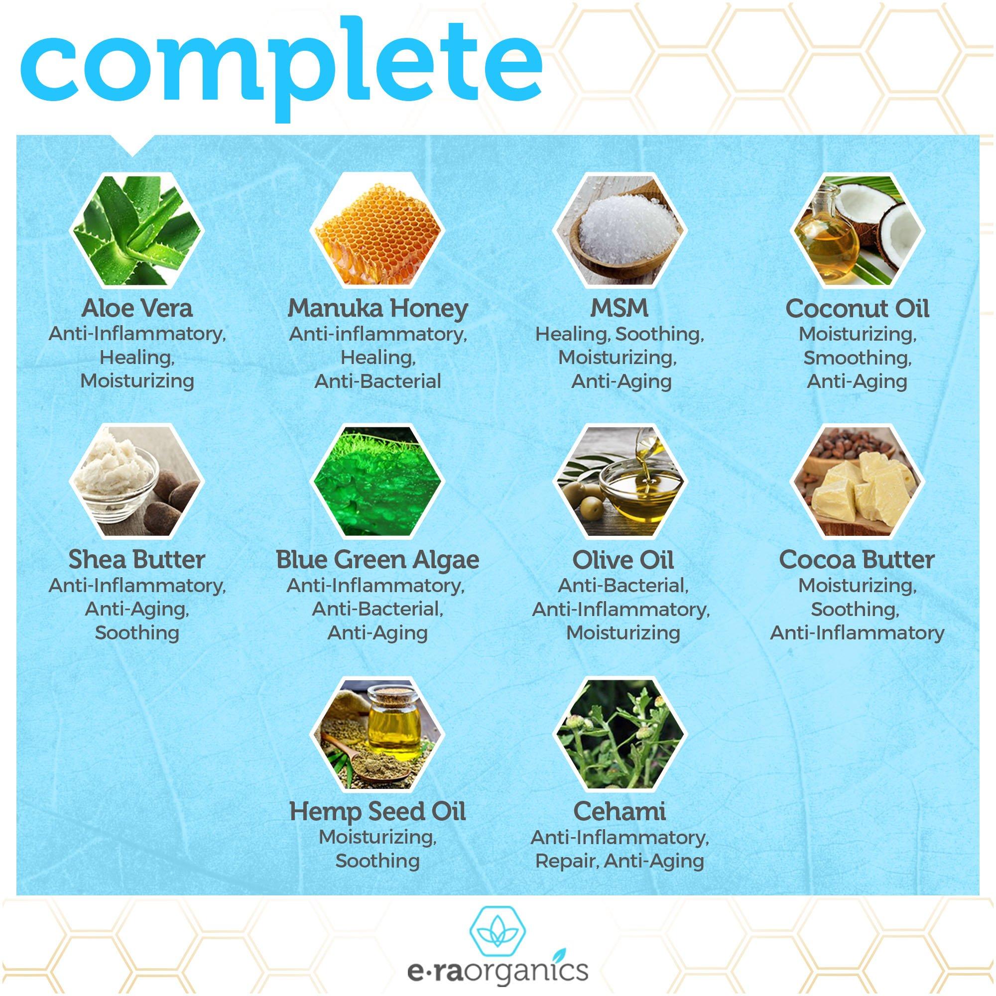 Face Moisturizer Cream Natural & Organic - Extra Nourishing