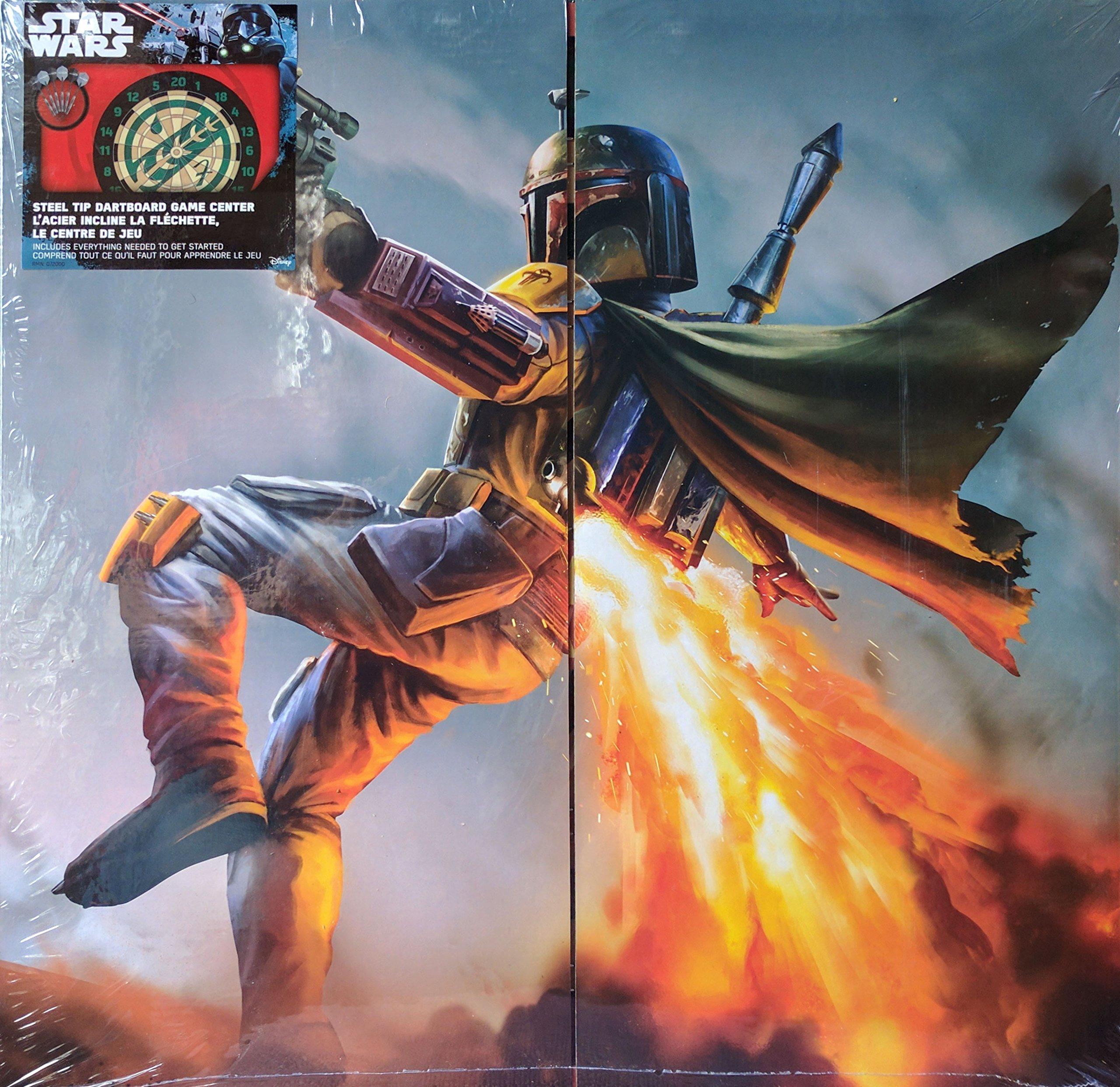 Star Wars, Steel Tip Dartboard Game Center (Boba Fett)