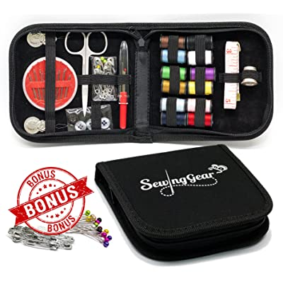Best Compact Sewing Kit for Home, Travel, Camping & Emergency