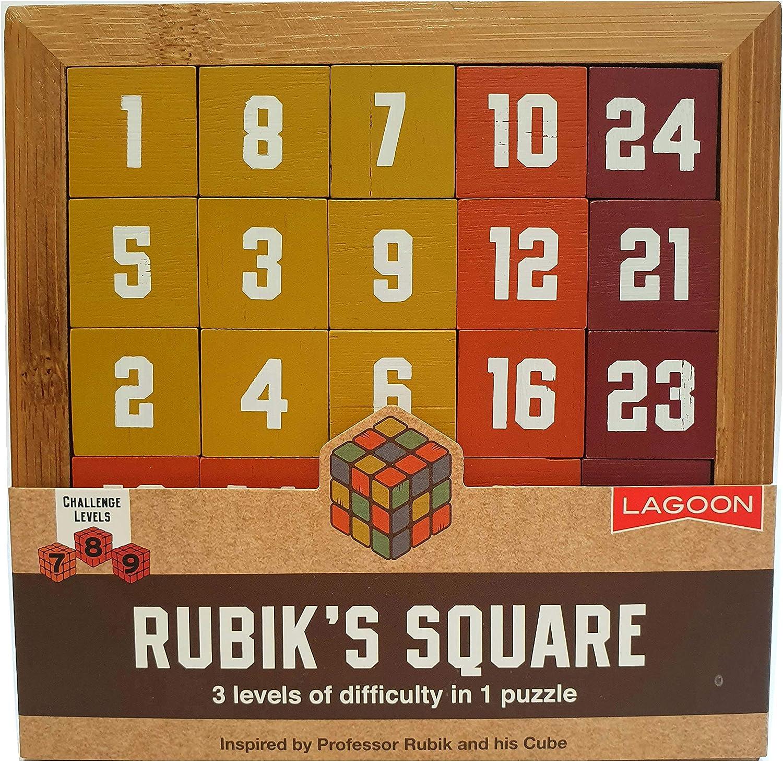 Lagoon Group Rompecabezas Cuadrado Rubik: Amazon.es: Juguetes y juegos