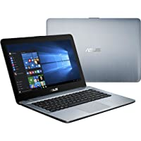"Asus X441BA-CBA6A Laptop Plata Portátil 35.6 cm (14"") 1366 x 768 Pixeles 2.6 GHz AMD A A6-9225 - Ordenador portátil (AMD A, 2.6 GHz, 35.6 cm (14""), 1366 x 768 Pixeles, 4 GB, 500 GB)"