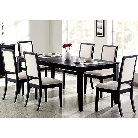 Amazon.com: Una línea Muebles Prestige Crema/Blanco tapizado ...