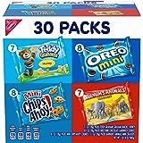 Nabisco Team Favorites Variety Pack, OREO Mini, CHIPS AHOY! Mini, Teddy Grahams Honey & Barnum's Animal Crackers, 30 Snack Pa