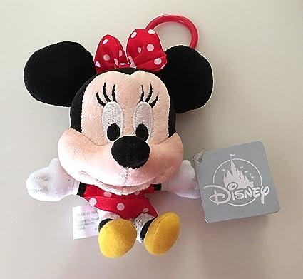 Amazon.com: Parques Disney Minnie Mouse cabeza grande Plush ...